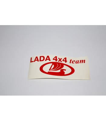 Брандирана декоративна лепенка ЛАДА 4х4